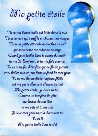 Poèmes pour les petits anges et tellement vrai..