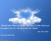 Savoir réchauffer les coeurs .............