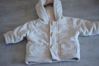 ( P10 ) 7e - le manteau bien chaud style DUFFLE-COAT 1an