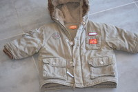 (P9 ) 7e - le manteau bien chaud polaire dedans CREEKS - 1 an