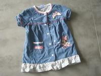 ( P 6 ) 3e - la jolie robe en jean MINNIE - DISNEY - 6mois