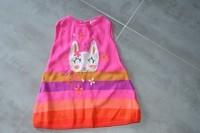 ( P 3 ) 4 euros la superbe robe colorée en laine HIVER - tres jolie ! DPAM - 6mois