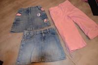 ( P 11 B ) 2.5e le pantaloni 6ans ( les jupes sont vendues)