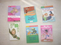 1.50 euro le livre pour enfants de 10 ans ( studio dance, le petit poucet sont vendus)