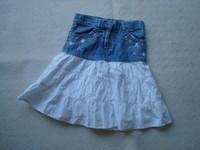 ( P7) 2.50 euros la jupe taille réglable  VYN IL FRAISE 5 ans