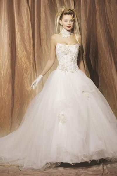 robe de mariee trop belle