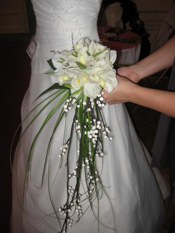 Bouquet de mari e salles et d corations mariage forum vie pratique - Bouquet de mariee artificiel original ...