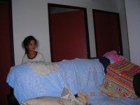 hhhhhooooooooooooo!!! qui sort de son lit ???mais c koi tous ça sous le sapin??