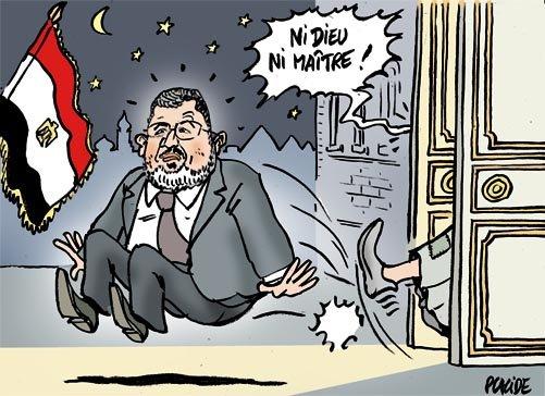 Au revoir et Morsi !