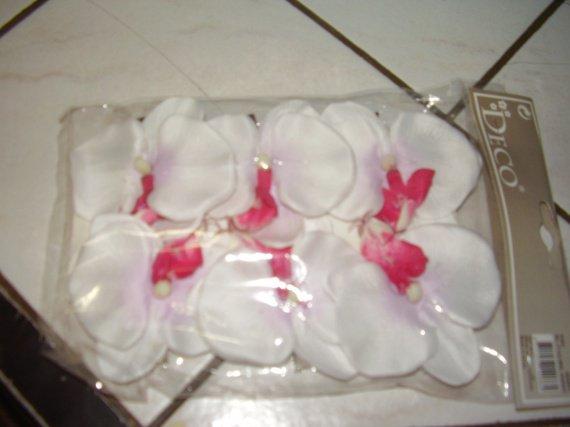 Les orchidée qui serviront de boutonnieres pour les hommes