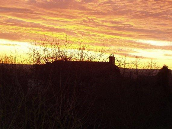 coucher de soleil à ma fenêtre,jardin zabh 08