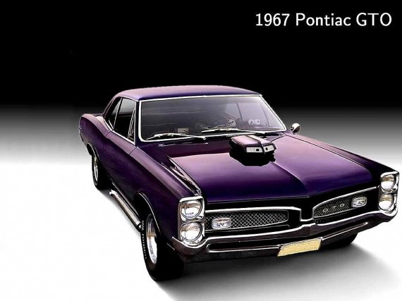 1967 Pontiac Gto Muscle Car Wallpaper Mes Photos Mécaniques