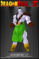 Dragon_Ball_Z___Android_14_by_tekilazo