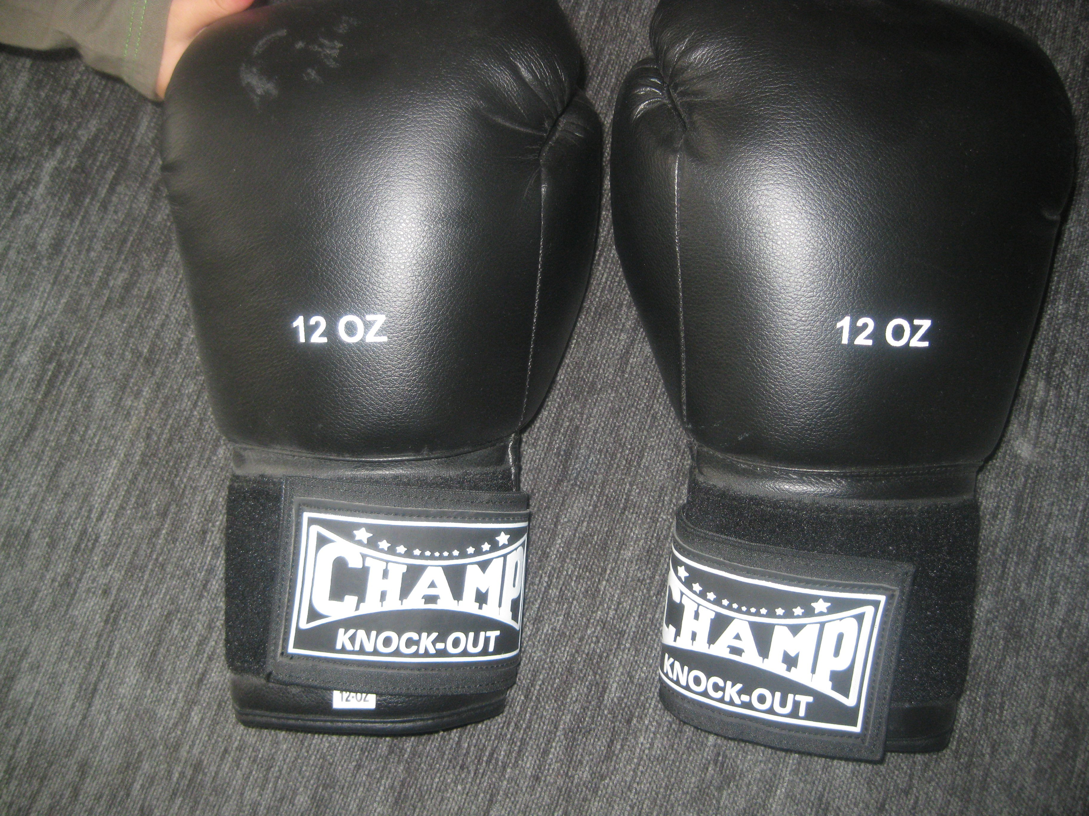 Taille de gants de boxe 9