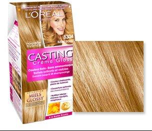 L'oreal coloration blond cuivre