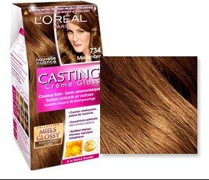 Couleur cheveux caramel casting