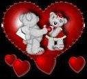 coeur nounours