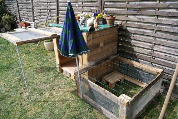 Cage pour lapin en bois bricolage forum vie pratique for Construire une cage a lapin exterieur