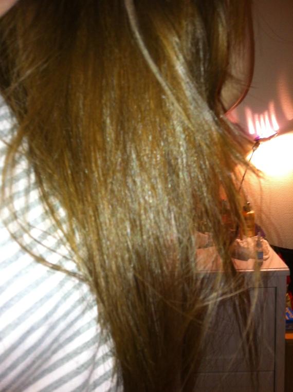 Coloration blond roux a blond cendre