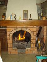 ma cheminée au Portugal