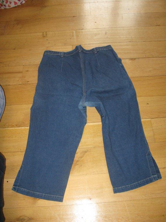 Jeans cheville derrière 52