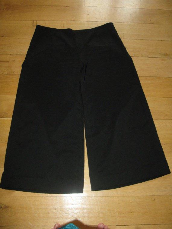 Pantalon pont droit noir 52