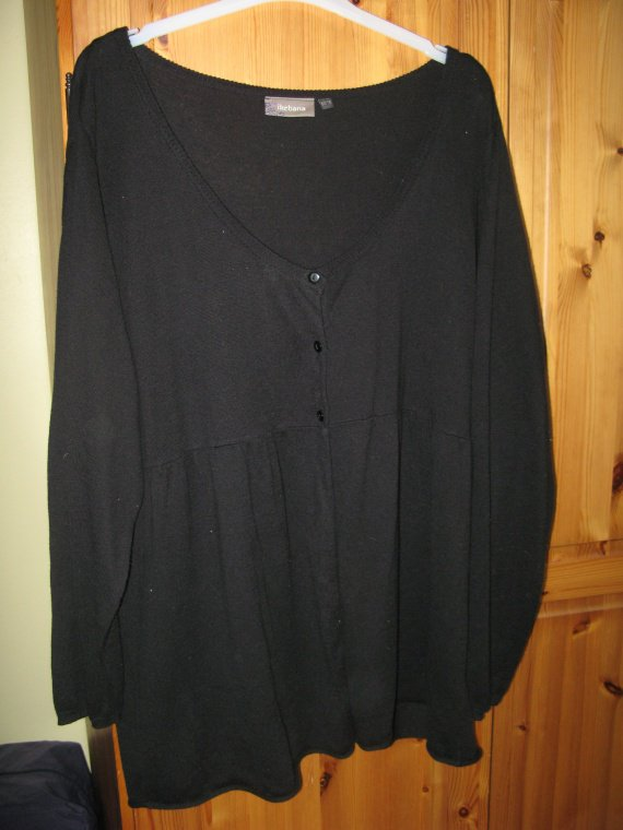 gilet noir 54-56