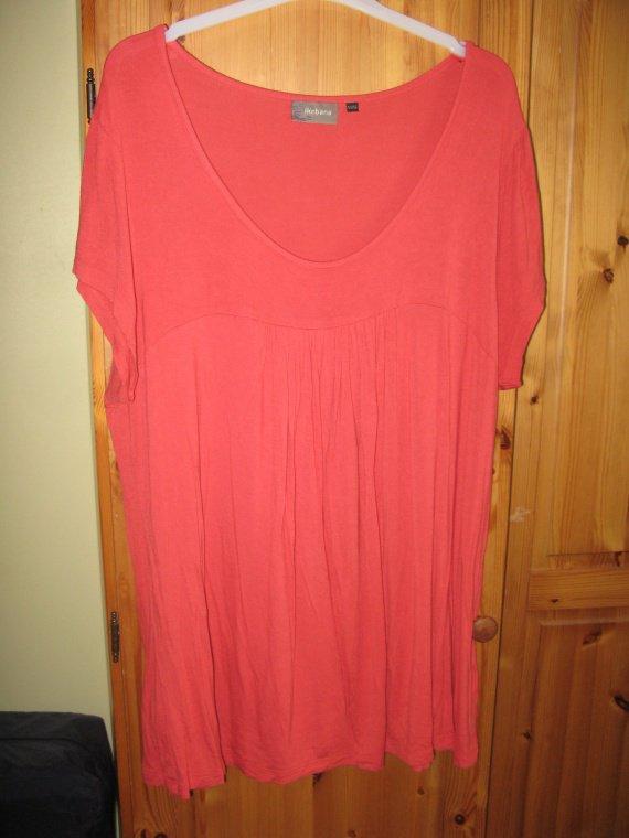 T shirt corail 54-56