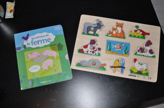 livre et puzzle