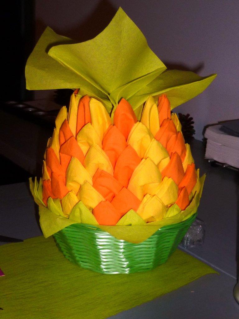 ananas jaune et orange ppur vos buffets ap ritifs th me. Black Bedroom Furniture Sets. Home Design Ideas