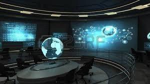 salle holographique