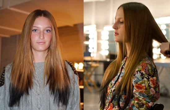 Reverse,Ombre,Hair