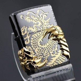 photos mes dragons zippo lighter black gold double dragon 320623470280Dragon Zippo Lighters