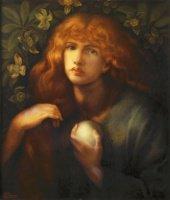 Mary Magdalene, 1877, by Dante Gabriel Rossetti