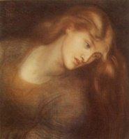 Dante-Gabriel-Rossetti-Aspecta-Medusa-Oil-Painting