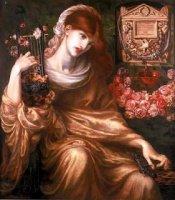 Dante_Gabriel_Rossetti_-_'Roman_Widow'_('Ds_Manibus')