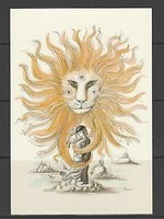 carte-moderne-les-amoureux-de-Peynet-zodiaque