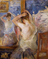devant-le-miroir-1890-berthe-morisot
