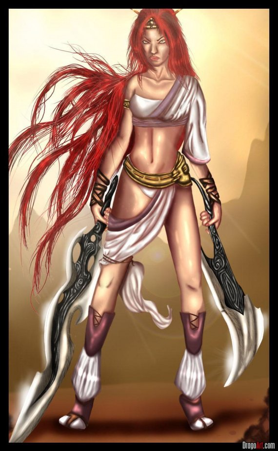 how-to-draw-nariko-from-heavenly-sword