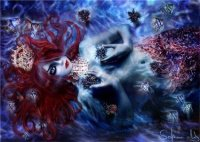 mermaid Katarina Sokolova's Portfolio.