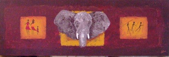 toile elephant
