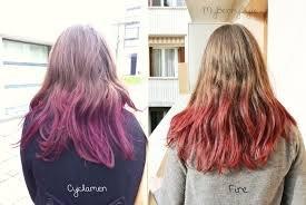 Cheveux crazy color fire
