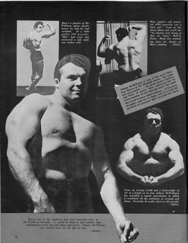 Bodybuilder-John-McWilliams-le-premier-recordman-du-Bench-press