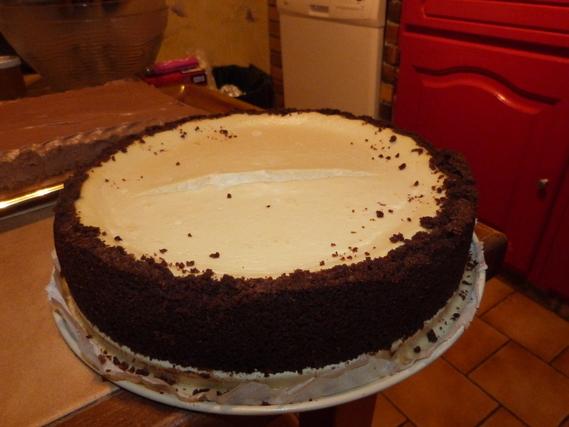 Cheese cake vanille chocolat