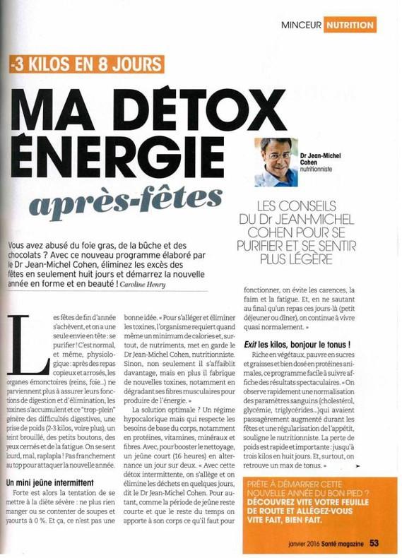 Santé magazine janv 2016-Page 53