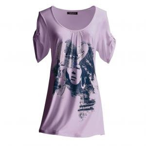tee shirt violet