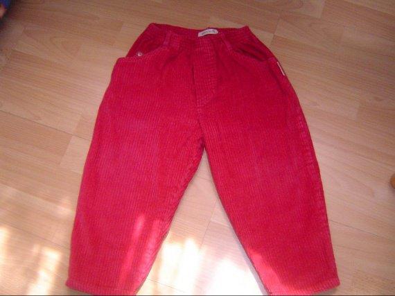 pantalon velous sucre d'orge 6 euros