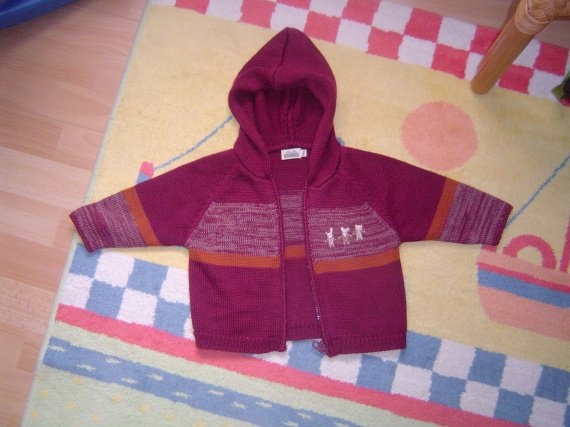 gilet sergent major 12 mois 5 euros