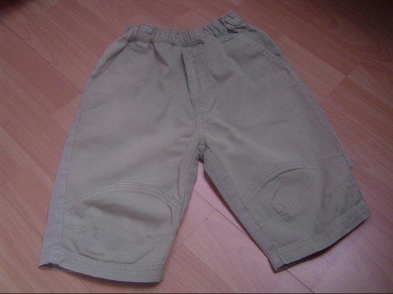 pantalon vert d'eau taille élastique 6 euros
