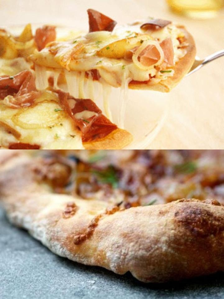 Pizza + Raclette = génial